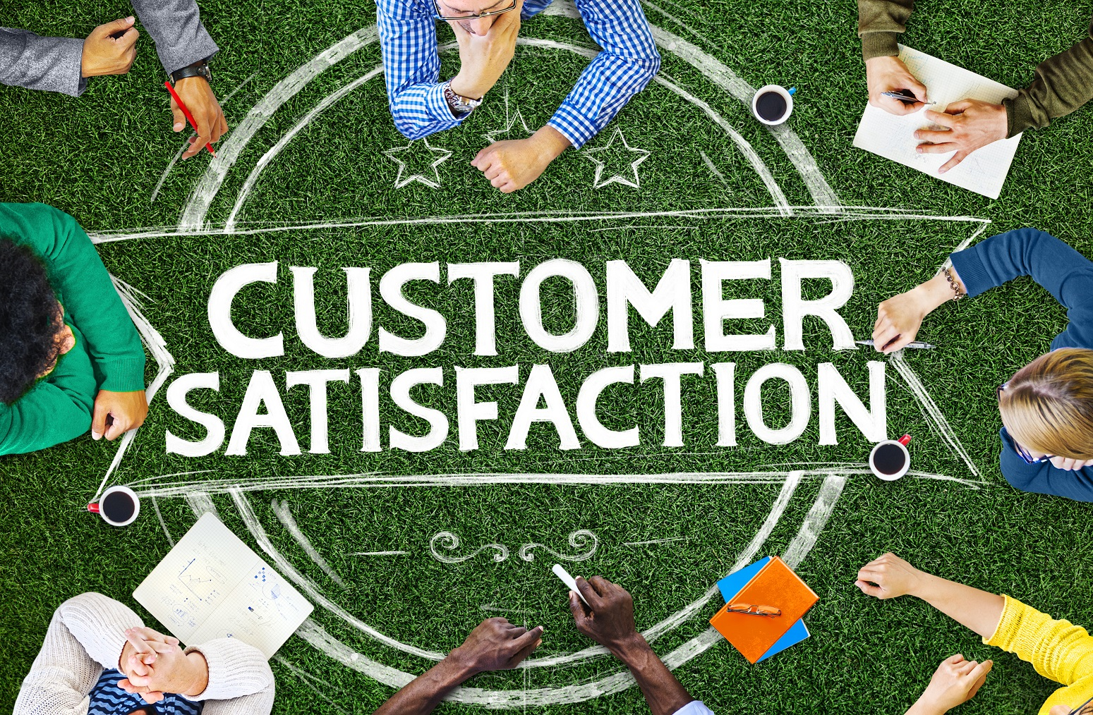 Customer Satisfaction Support Service Quality Concept